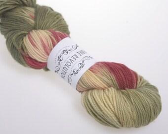 Sock Yarn 'Grapevine' - Hand dyed  Yarn, AUSTRALIS DK  Hand dyed wool yarn