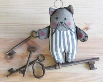 keychain, cute cat, handbag accessories