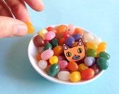 Cat enamel lapel pin - Cat pin - Enamel pin - Enamel cat pin - I like cats - Cat lapel pin - Cat jewellery - Cat gifts - Cats - Cat - Pin