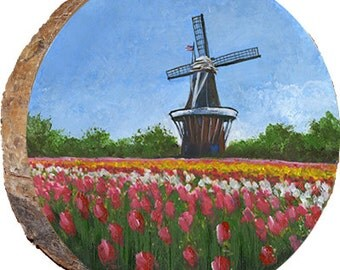 Tulips and Windmill, Holland, Michigan - DCP129