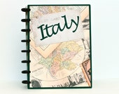 Italy Travel Journal Scrapbook Album Honeymoon Engagement Retirement Graduation Gift Birthday Gift