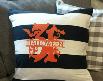 Halloween Pillow Cover ... Halloween Decor.. October 31st