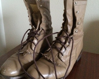 Vintage Justin Brand Women's Roper Boots