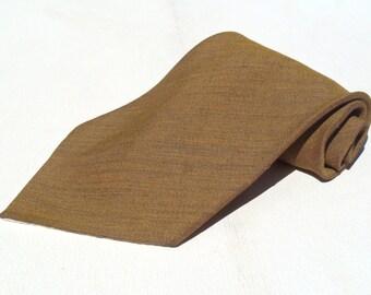 Vintage 1950s Old Gold Tie by Dale Cavanaugh