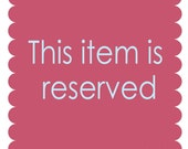 Reserved for Carol - Necklace Repair Service