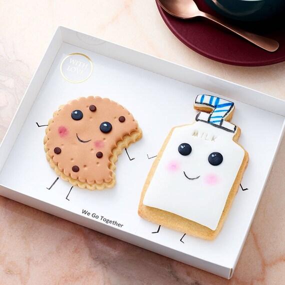 Cute Kawaii Cookies We Go Together Gift Box