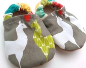 llama baby booties, llama shoes soft sole shoe gift for baby shower gift gender neutral booties toddler does toddler slippers llama slippers