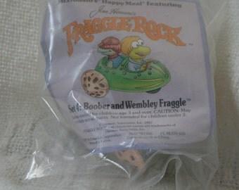 Vintage Fraggle Rock Mcdonalds Toys
