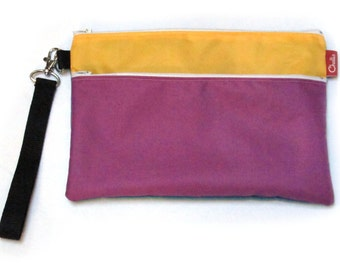 Small Nappy Bag / Diaper Pouch / Changing Bag / Baby Record Book Purse / Beach Clutch / Travel Bag / Water Resistant