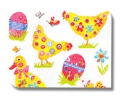 Easter paper napkin serviette for decoupage x 1. Easter. No 1053