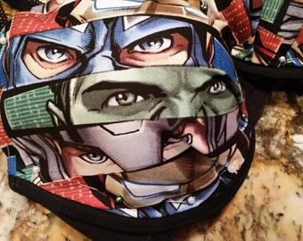 Marvel avengers inspired bra set