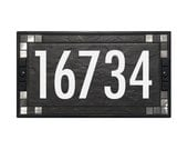 House Numbers Sign Address Plaque Contemporary 5