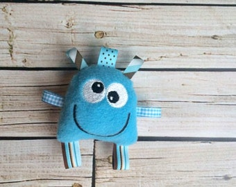 Monster Doll - Monster Plush - Monster Plush Toy - Blue Monster