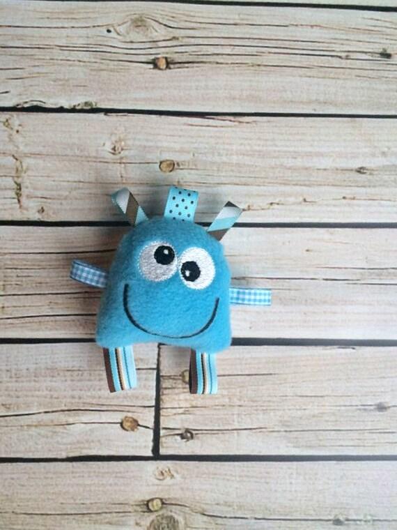 Monster Doll - Monster Plush - Monster Plush Toy - Blue Monster
