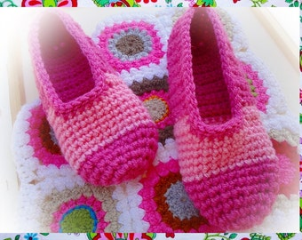 For Gifts Easy Slippers Crochet Pattern