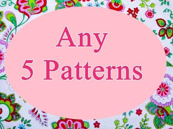 Pick  5 Crochet Patterns
