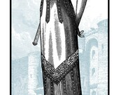 The Melvins - Silkscreened Gig poster Paris Le Bataclan September 15