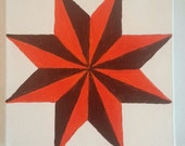 Barn Quilt Style Painting