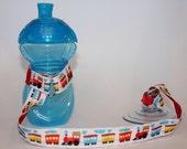 Sippy Cup Leash   Sippy Strap   Sippy Cup Strap Suction Cup   Bottle Tether   Sippy Cup Strap   Suction Sippy Strap   Choo Choo Train