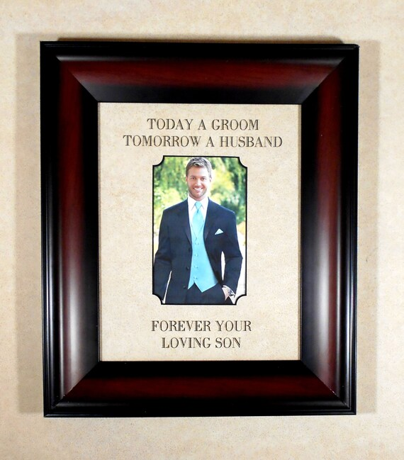 son gift to dad wedding gift mom loving son custom wedding gift