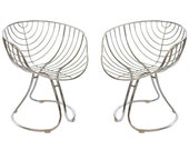 1960s Italian Chrome Pan Am Retro Chairs RESERVED TAMI