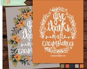 1 Thessalonians 5:18 Print