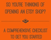 How to open Etsy shop -start selling on Etsy guide for beginners