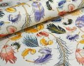 Rossi Italian Fine Decorative Paper - Mulit-Coloured Feathers