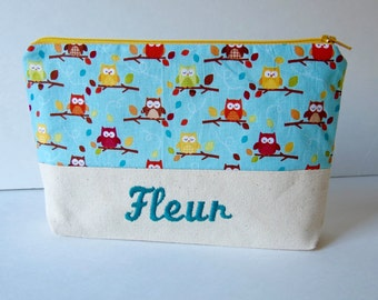 Personalize pouch