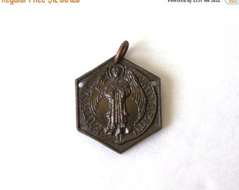 Faithful Unto Death Medallion Pendant  religious medal  Rev 2:10