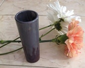 Mini glass vases, recycled glasses, up cycled flower vase, glass painting, table decor, re purposed barware, shot glasses