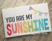 You Are My Sunshine (Large) wood sign *Ready To Ship*
