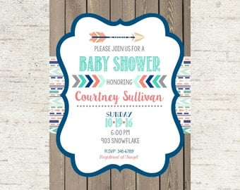 12 baby shower invitations with envelopes ready by