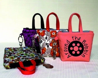 Itty Bitty Totes with Keychain Hardware Kit