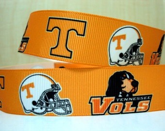 "7/8"" Tennessee Vols Ribbon - 3 yards"