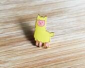 ANIMAL | Cute Llama Enamel Lapel Pin