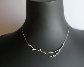 European Linden Twig Necklace