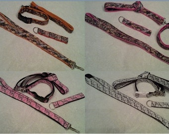 FREE SHIPPING!!!!! Camo Lanyard/Leash/Collar/Key Chain - pick item & color