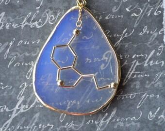 Biolojewelry - Statement Serotonin Opalite Necklace