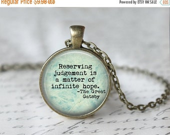 Great Gatsby Book Necklace - Great Gatsby - The Great Gatsby - Great Gatsby Wedding - F Scott Fitzgerald - Roaring Twenties Party L20