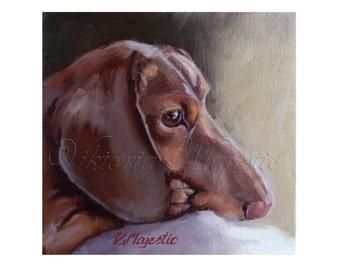 CUSTOM ORDER - Pet Portrait - Oil Painting