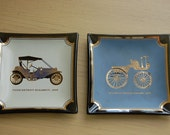 glass car trays, house art, paige detroit runabout, seldens motor wagon