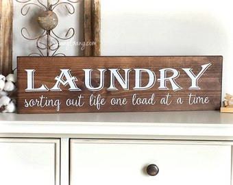 Delightful Laundry Room Decor | Farmhouse Laundry Sign | Laundry Room Wall Art |  Laundry Sign | Part 11