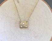 Scattered Stars Necklace-Square