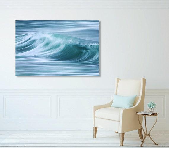 Large Nautical Wall Decor : Large canvas wall art coastal decor nautical print by klgphoto