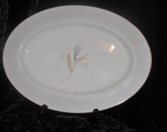 Atomic Noritake Serving Platter Clinton Pattern Mid Century