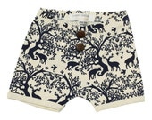 Play shorts - Woodland - Organic cotton