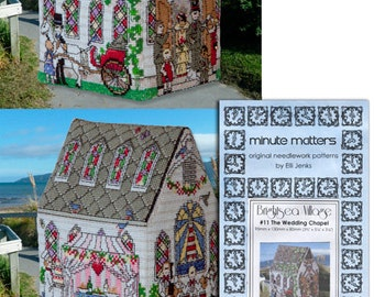 3D BrightSea Village 11 BrightSea Village Wedding Chapel Cross Stitch Pattern
