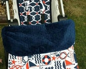 IN STOCK and ready to ship 1 winter Stroller blanket with foot muff, 1 stroller liner and a set of strap pads
