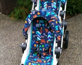 City select- baby jogger- custom fit stroller liner -This listing is for one liner